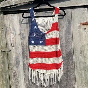 CLOUD CHASER | Crotcheted Flag Tank